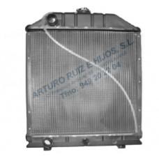 Radiador FIAT 780. Motor IVECO